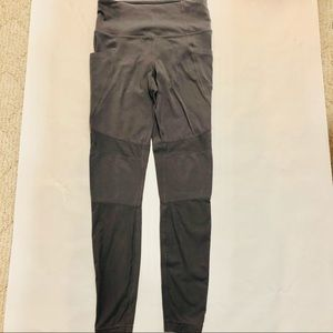Athleta Leggings with Pockets and Mesh